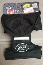 Pet New York Jets NFL Reflective Dog Hoodie Harness SMALL Brand New