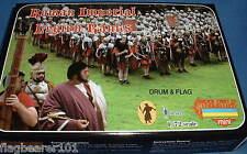 STRELETS SET M 100. ROMAN IMPERIAL LEGION RANKS. 1/72 SCALE. 40 FIGS