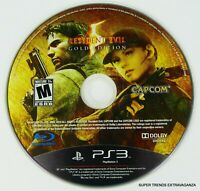 Resident Evil 5 -- Gold Edition (Sony PlayStation 3, 2010) DISC ONLY - TESTED