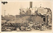 G83/ Waverly Iowa RPPC Postcard c1910 Creamery Supply Co Disaster