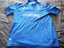 Chelsea Home Shirt 2009.Extra Large XL Adidas Adults Short Sleeves Football Top