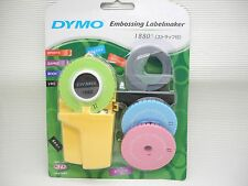 DYMO 1880 Embossing Label maker 3 word dishes + 1 Label Refill(China)