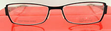 LIGHTEC MOREL 6589L NC 054 BLACK METAL EYEGLASSES FRAME 51-16-140