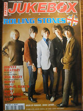 Revue jukebox magazine no. 153-j. hallyday rolling stones G. vincent r. gallagher