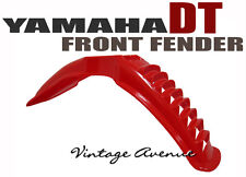 BRAND NEW YAMAHA DT125 DT175 FRONT FENDER [RED]