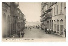 CPA Algérie Philippeville la rue Nationale Jacob vitrerie carte postale/cp448