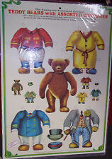 Teddy Bears with assorted costume changes (1983) Merrimack (unused) Hong Kong