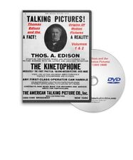Thomas Edison The Origins of Motion Pictures 6 DVD Set 341 Films - A553-558