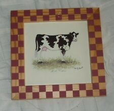 COW PRINT /by Marty Fyre/- VERY Collectible