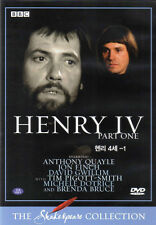 Shakespeare Henry IV / 4th / Fourth (Pt 1) - Jon Finch - BBC Collection DVD
