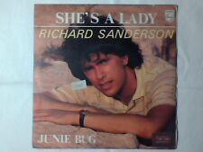 "RICHARD SANDERSON She's a lady 7"" ITALY"