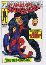 Amazing Spider-Man #73 Marvel 1969 The Web Closes !