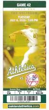 Alex Rodriguez Home Run 596 597 Yankees 7/6 Ticket HR