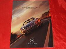 MERCEDES C208 CLK Coupe + Cabriolet Avantgarde Prospekt von 1999