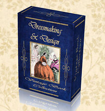 150 Vintage Dressmaking Books Design Pattern Dress Fabric Fashion Dummy Bust 253