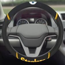 Pittsburgh Steelers Embroidered Steering Wheel Cover