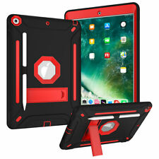 Armor Case For iPad 10.2 7th Generation 2019 Silicone Protect Hybrid Stand Cover