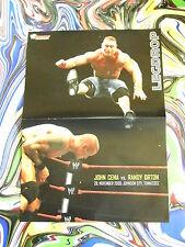 JOHN CENA vs RANDY ORTON- JEFF HARDY-WRESTLING Doppel Poster A3(59x22 Plakat-W1a