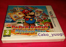 PAPER MARIO STICKER STAR NINTENDO 3DS NEUF VERSION FRANCAISE