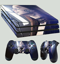 PS4 Pro della pelle del cyberpunk bellissimo Android UMANOIDE Adesivo + 2 X Pad Decalcomania In Vinile