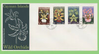Cayman Islands 1971 Wild Orchids set on First Day Cover