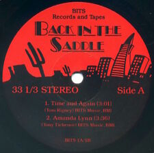 """BACK IN THE SADDLE 7"""" EP 1980 private SF Western Swing Tom Rigney EX mp3"""