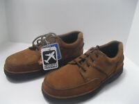 Skechers Nubuck Shoe  Mens Casual Brown NEW in Box Men Sz 8 W Summit