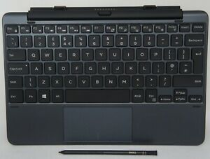 Dell Venue 10 Pro 5056 UK Keyboard + Stylus K13M 0WFK8P