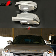 Car Rearview Side Wing Mirror Cover Trim For Chevrolet Tahoe 2008- 14 ABS Chrome