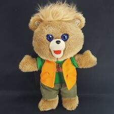 Teddy Ruxpin Plush Bear Reading Aloud Talking Brown Bear Stuffed Animal 2018