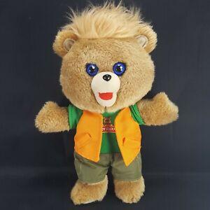 Teddy Ruxpin Plush Bear Reading Aloud Talking Brown Bear Stuffed Animal 2018