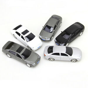 5X Painted Model Cars Building Train Street Park Road Layout Toys 1:50 O Scale