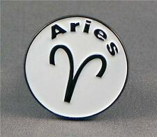 ARIES - LAPEL PIN BADGE - ZODIAC HOROSCOPE MARS ASTROLOGICAL STARS (LK-40)