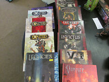 White Wolf Roleplaying Game Books Vampire, World of Darkness Exalted RPG  R3