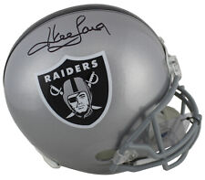 Raiders Howie Long Authentic Signed Full Size Rep Helmet BAS Witnessed