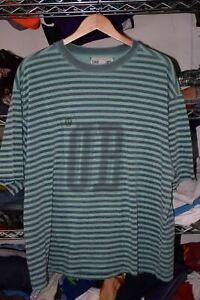 UNIONBAY vtg 90s 100% Cotton Surfing Surfer Striped t shirt Men's XL Worn In