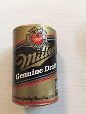 Miller Genuine Draft Beer Can Wooden Matchstick Holder