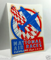 National Air Races Vintage Style Travel Decal / Vinyl Sticker,Luggage Label