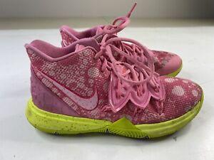 Nike Boys Kyrie 5 GS Patrick Star SpongeBob Shoes CJ7227-600 Pink 4.5Y