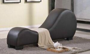 Leder Sex Couch Liebessitz Exotische Möbel Sofa Chaise Lounge Yoga Stuhl