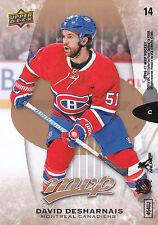 16/17 UPPER DECK MVP STEVEN STAMKOS PUZZLE #14 DAVID DESHARNAIS CANADIENS *20357