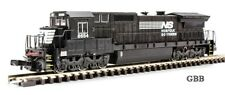 N Scale Norfolk Southern GE DASH 8-40C DCC Compatible Bachmann Spectrum 85055