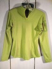 Womens Arcteryx  Long Sleeve 1/4 Zip Pull Over Base Layer Shirt Size Medium