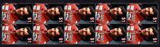 Ayrton Senna Strip Of 10 Formula 1 Legend Mint Vignette Stamps 2