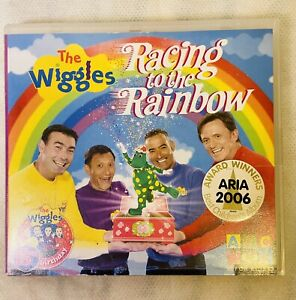 The Wiggles-Racing To The Rainbow-2006-[110 Minutes]-Children TW-DVD + Free Post