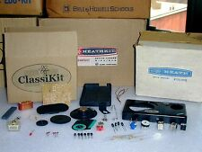 Unbuilt Classikit Small 6 Transistor AM Radio Unassembled + Eico Heathkit Survey