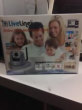 NEW Liveline AVC3110 Monitoring system Wireless Night Vision Pan &Tilt Ip camera