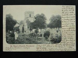 Chiltern Hills WENDOVER St. Mary's Church c1905 Postcard by Herbert E. Freeman