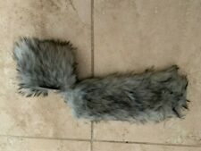 Faux Fur Bracelet -Grey