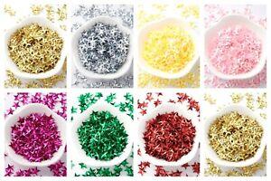Lady-Muck1: ± 400 x Stars Sequins Christmas Confetti Scrapbooking Glitter - UK